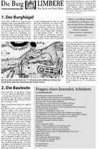 Geschichte der Burg Limbere Teil 2
