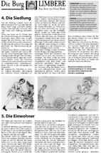Geschichte der Burg Limbere Teil 3