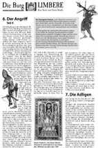 Geschichte der Burg Limbere Teil 4