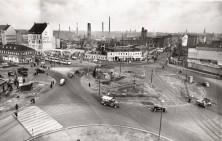 Küchengarten 1956 noch ohne Heizkraftwerk