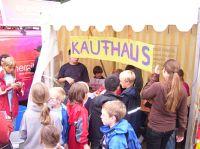 Andrang am Kaufhaus
