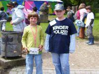 Kinderpolizei im Einsatz