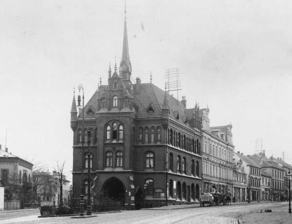Rathaus in der Deisterstraße, 1910