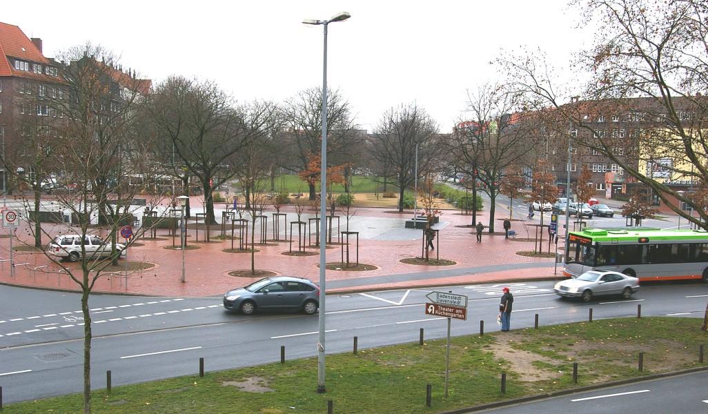 Vergleichsbild Kuchengarten Um 1910 2011