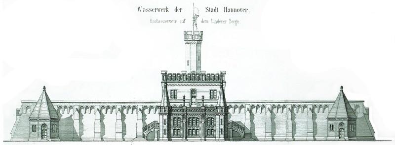Planansicht von 1877