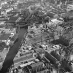 Luftbild vor dem Bau