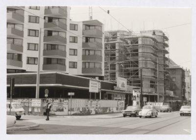 Bau der Tobleronehäuser 1973