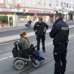 Polizeieinsatz der besonderen Art