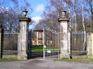 Tor zum Bergfriedhof
