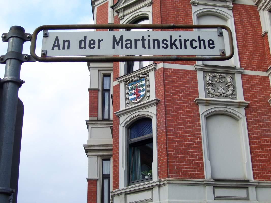 An der Martinskirche