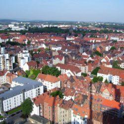 Blick auf Linden-Nord
