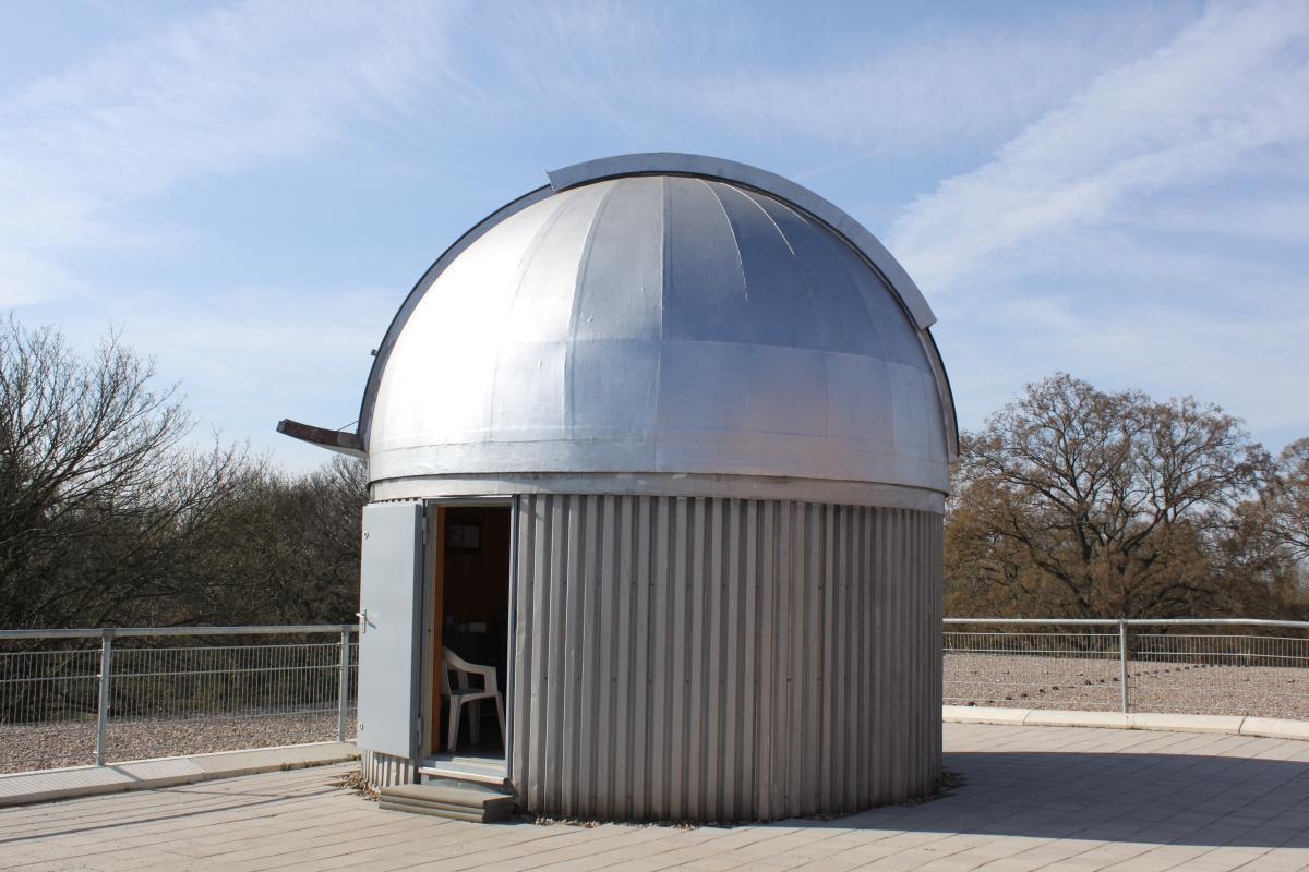 Kuppel der Sternwarte