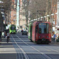 Üstraverkehr durch die Limmerstraße