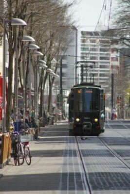 Linie 10 in der Limmerstraße