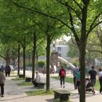 Pfarrlandplatz / Pfarrlandstraße