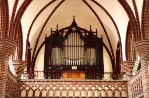 Orgel in der Erlöserkirche (Quelle: Wikipedia - Foto: Lothar D. Zickermann)