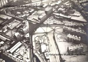 Bahnhof Küchengarten 1912 (© Hist. Museum Hannover)