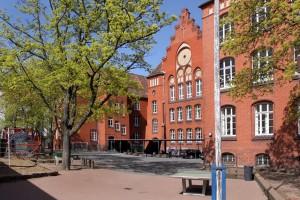 Schulhof der Eichendorffschule