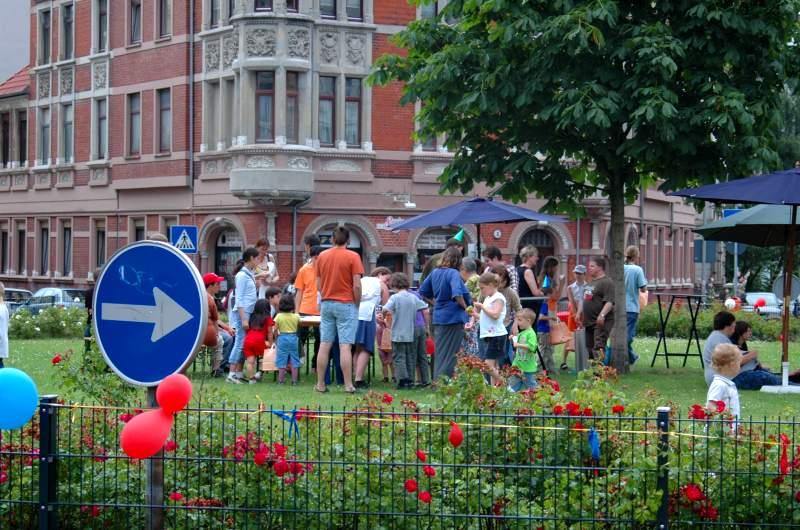 Fest auf dem Lichtenbergplatz
