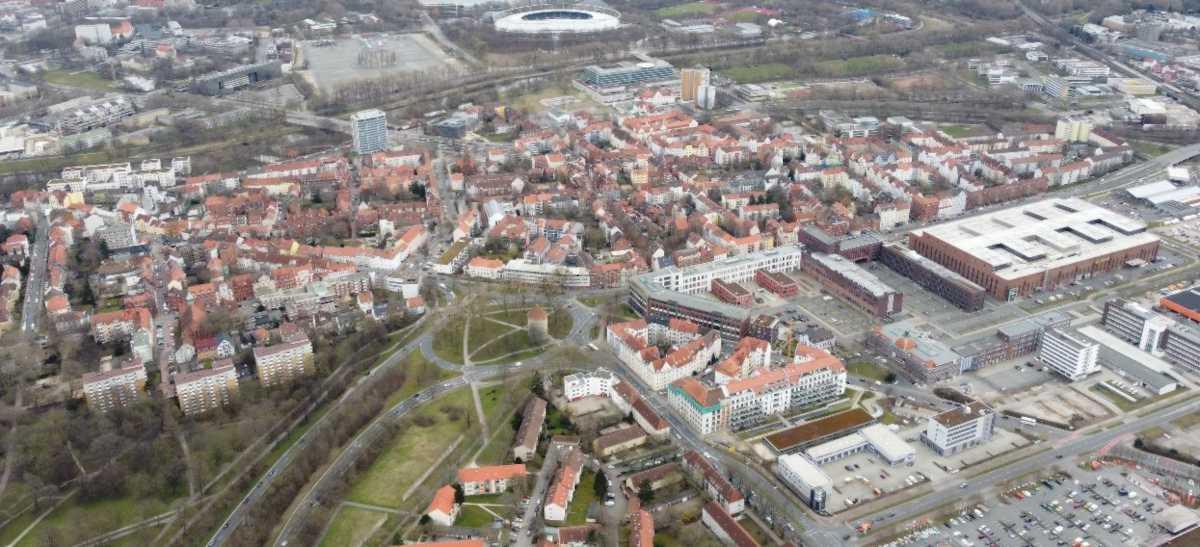 Linden-Süd Luftbild