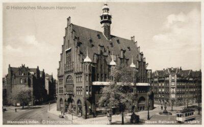 Lindener Rathaus um 1900