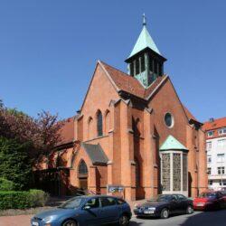 Katholische St. Godehard Kirche in Hannover-Linden