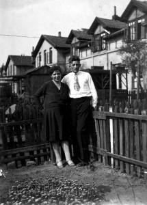 Ehepaar Deuker 1930 (Foto aus Privatbesitz)