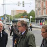 Hauke Jagau und Bernd Strauch
