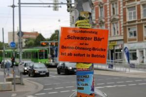 Hochbahnsteig Schwarzer Bär ist ab sofort in Betrieb