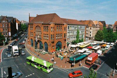 Rathaus am Lindener Marktplatz