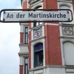 Lindener Wappen an der Martinskirche