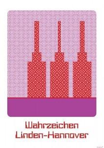 Poster - Das Wahrzeichen von Linden