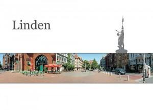 Postkarte Lindener Markt