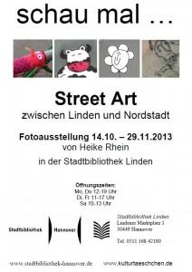 Schau mal … Street Art zwischen Linden und Nordstadt