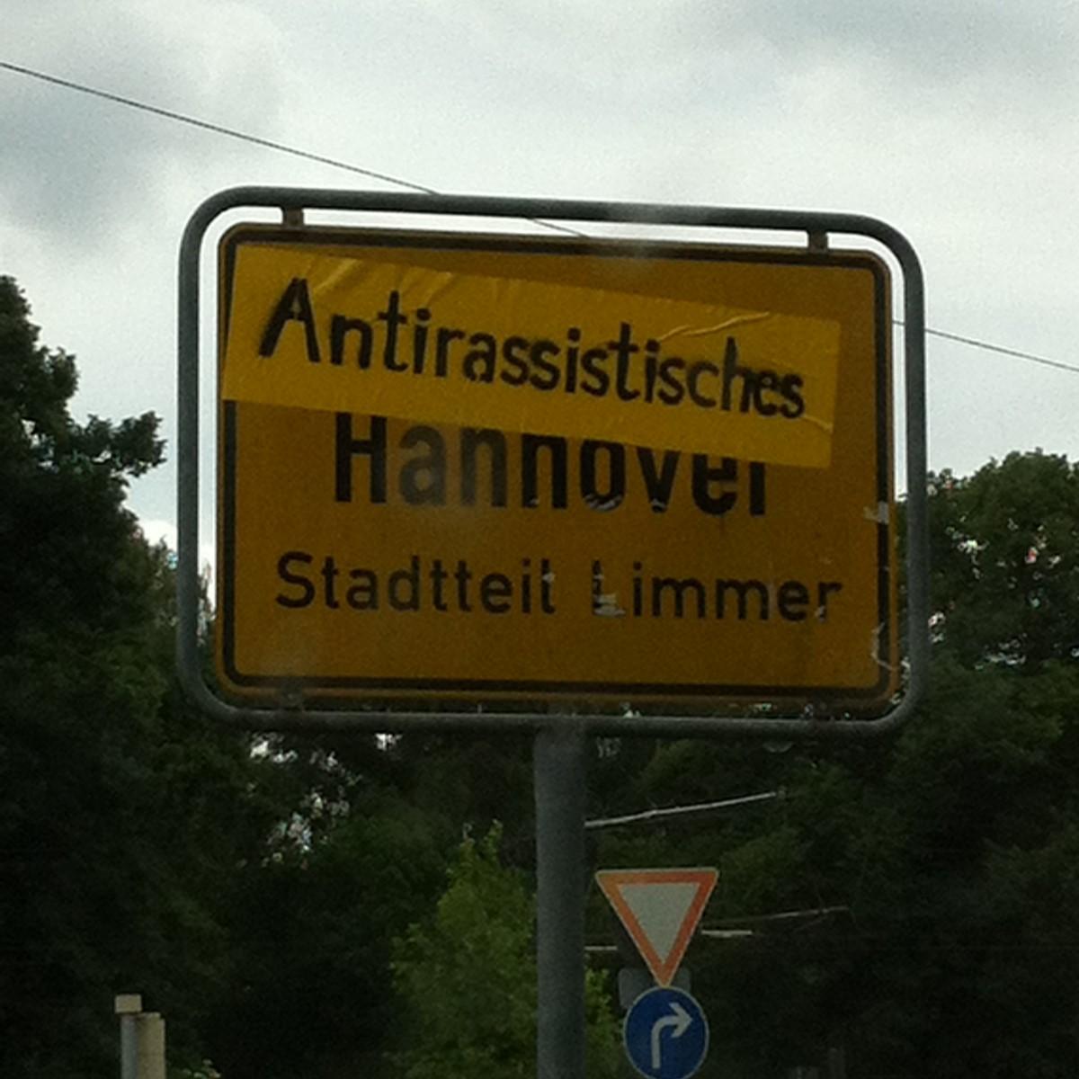 Symbol Antirassistisches Hannover-Linden