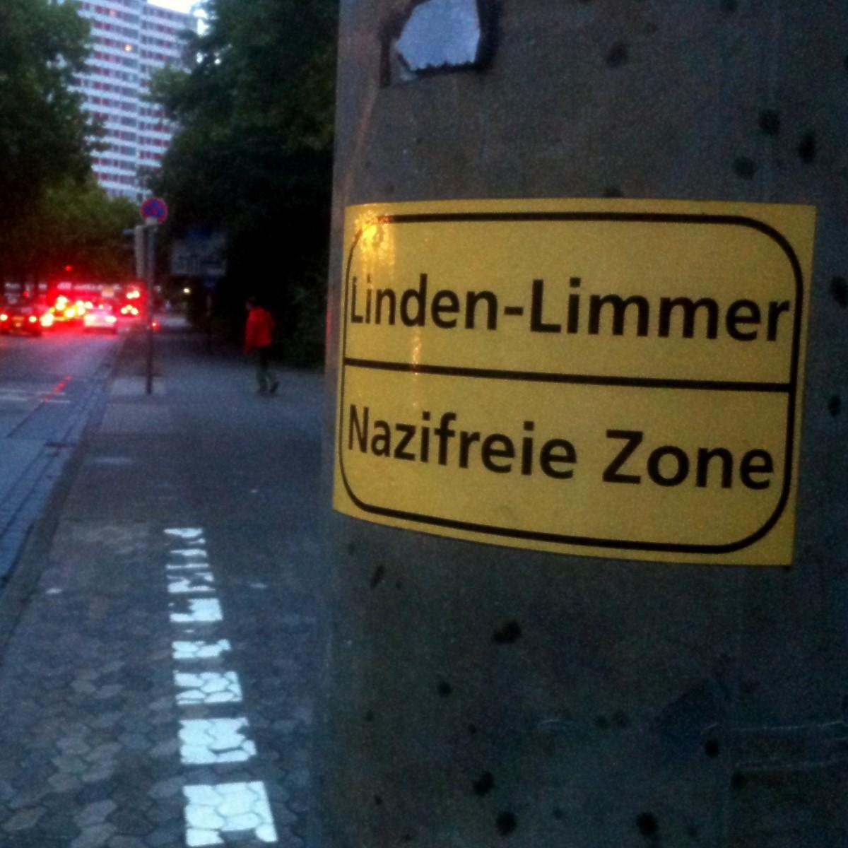 Symbol Linden-Limmer Nazifreie Zone
