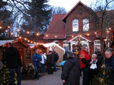 Weihnachtsdorf auf dem Lindener Berg