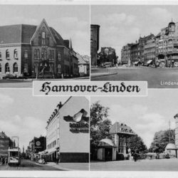 Postkarte: Linden um 1955 (Werner Krämer)