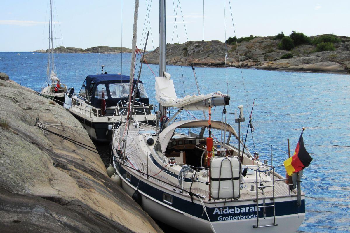 Die SY Aldebaran im Oslo-Fjord