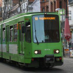Auf der Linie 10 fahren am Wochenende Ersatzbusse