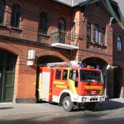 ABC-Alarm an der Hochschule Hannover in Linden-Süd