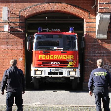 Feuerwehrhaus am Lichtenbergplatz