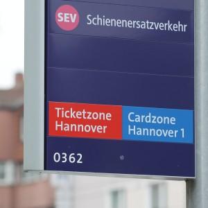Schienenersatzverkehr (SEV)