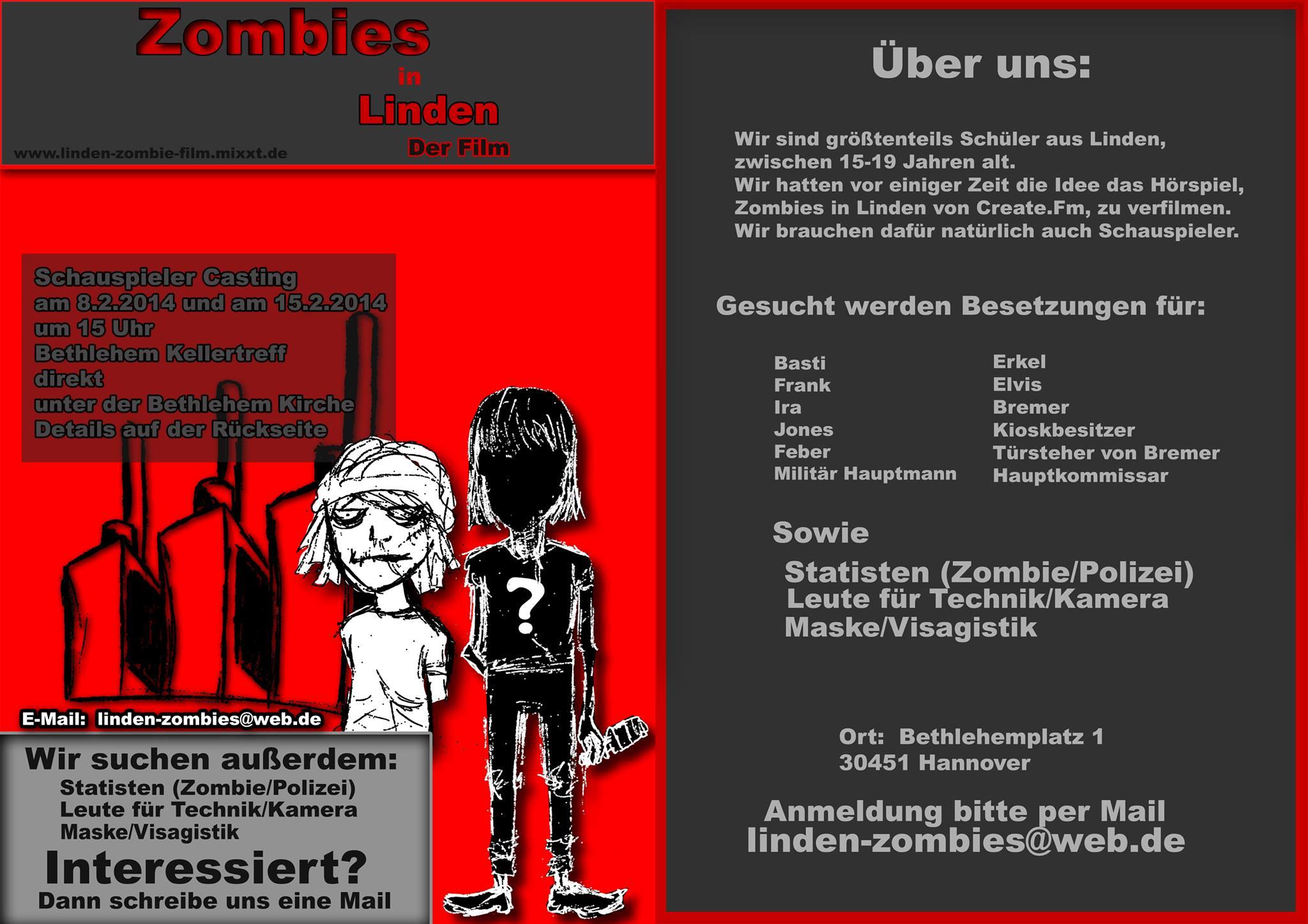 Zombies gesucht!