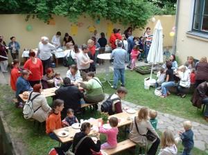 Gemeindefest im Kindergarten St. Martin