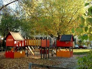 Spielplatz vor dem Umbau
