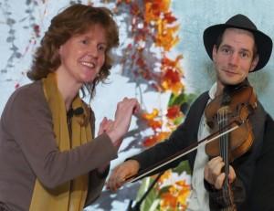 Manuela Fabrizius & Frank Wacks (© Almut Luiken - Bearb. Jutta Gaenshirt)