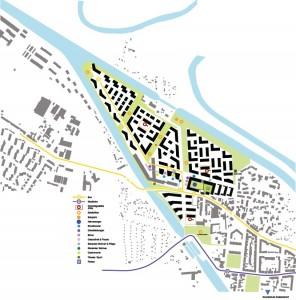 Wasserstadt Limmer: Funktionsplan Infrastruktur