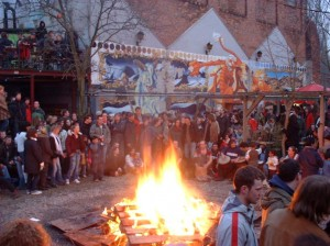 FAUST Osterfeuer im Gretchen