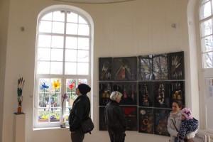 Ausstellung im Küchengartenpavillon